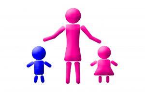 single parent family